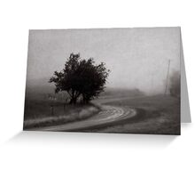 Lost Road Greeting Card
