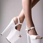 Platform Heels by Man kit Wong