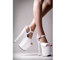 Platform Heels Photographic Print