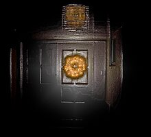 Wreath on the Door 03 by Andre Baljeu