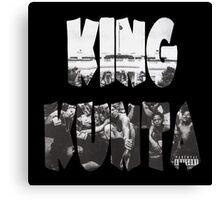 Kendrick Lamar King Kunta Canvas Print