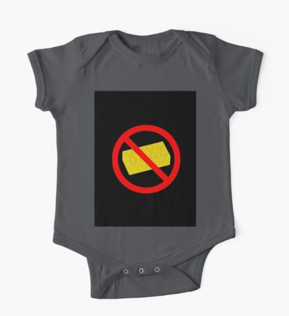 """Road Traffic Sign """"NO BRICK"""" One Piece - Short Sleeve"""