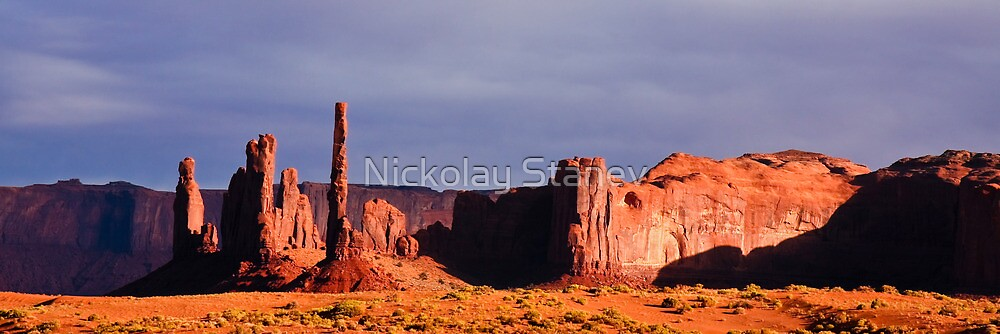 Totem Pole Panorama by Nickolay Stanev