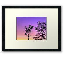 Planet sunrise HDR Framed Print