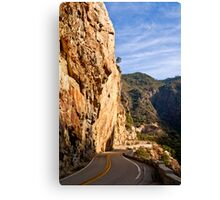 King's Canyon Road Canvas Print