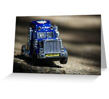 Little Boy's Toys Greeting Card