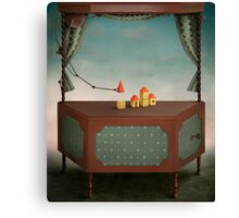 Magic locker Canvas Print