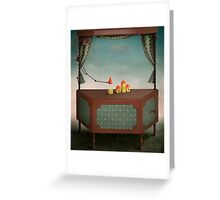 Magic locker Greeting Card