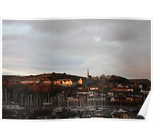 Frosty Morning in Crosshaven Poster
