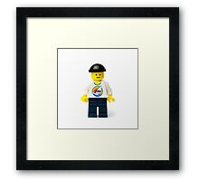 Regular Minifig Framed Print