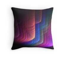 The rainbow abstract Throw Pillow