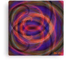Swirly Gig. Canvas Print