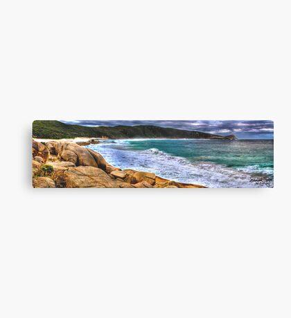 Salmon Holes Panorama Canvas Print