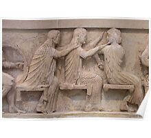 East Frieze, Treasury of Siphnos, Delphi Poster