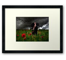 Storm Witch Framed Print