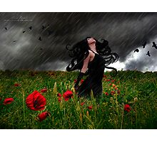 Storm Witch Photographic Print