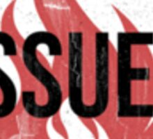issues Sticker