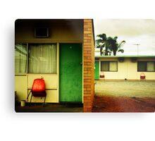 Motel Moribundity Metal Print