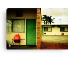 Motel Moribundity Canvas Print