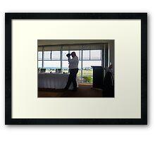 *Wedding photographer - Grandson's Wedding* Framed Print