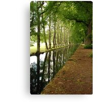 On the Way to Chenonceau Canvas Print
