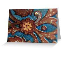 Macro Porcelain Greeting Card