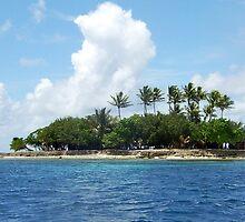 Fonomu Island Truk Lagoon by Mark Box