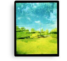 Beyond The Park Canvas Print