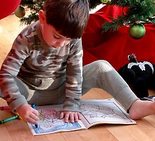 A picture for Santa! by Susana Weber