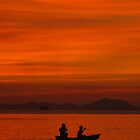 Krabi Kayakers by Pippa Carvell