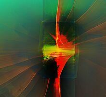 Painter's Block by Sandra Bauser Digital Art