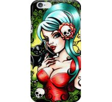 Black Lilly iPhone Case/Skin