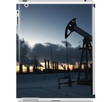 oil pump iPad Case/Skin