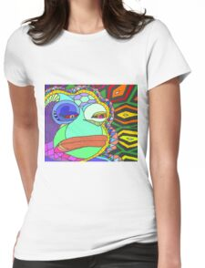 ACID PEPE Womens Fitted T-Shirt