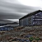 Viking boat shed. by FraserJ
