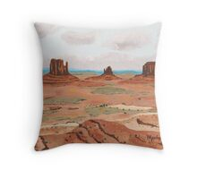 Spring in John Ford Country ~ Oil Painting Throw Pillow