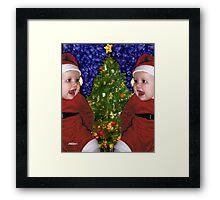Gracie's Christmas Tree Framed Print