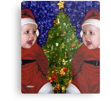 Gracie's Christmas Tree Metal Print