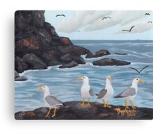 Craigs N Gulls ~ Oil Painting Canvas Print