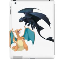 Charizard vs Toothless Night Fury iPad Case/Skin