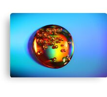 Cola Drop Canvas Print
