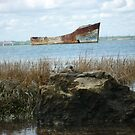 Rusty Old Boat - Shot 2 by Danny  Thrussell