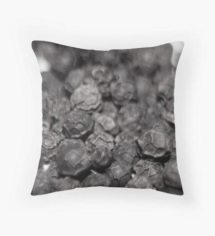 Peppercorns Throw Pillow