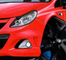 Vauxhall Corsa VXRacing Red Sticker