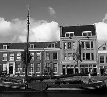 Delft Harbour - Rotterdam by Nick Bradshaw