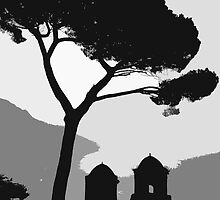 A new take on one of Ravello's most famous views by Christian Langenegger
