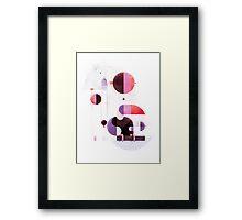 Rainbow swinger Framed Print