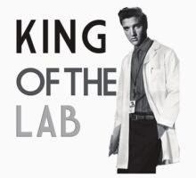 Elvis King of The Lab by Kelly Ferguson