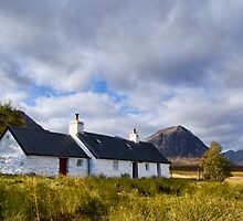 Blackrock Cottage, Glencoe by Claire Tennant