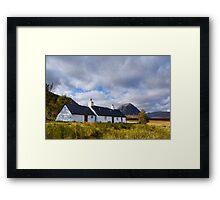 Blackrock Cottage, Glencoe Framed Print